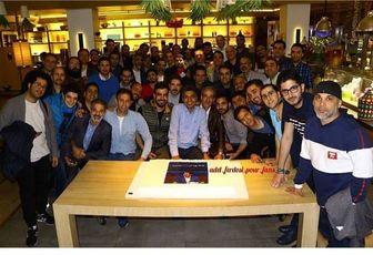 جشن نودیها برای عادل فردوسیپور