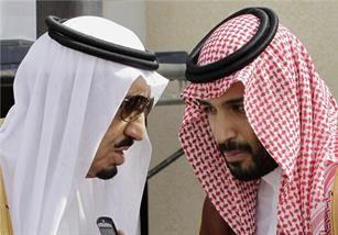 ولیعهد عربستان و پسر ملکسلمان وارد جنگ شدند
