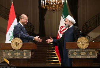شوخی دیپلماتیک روسای جمهور ایران و عراق