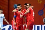واکنش AFC به پیروزی تیم ملی فوتسال ایران مقابل ازبکستان