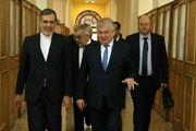 سفر لاورنتیف به تهران
