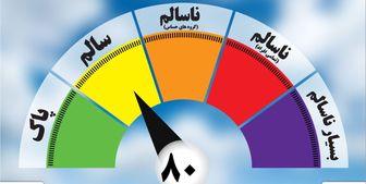 هوای تهران در ۱۷ اسفند ماه؛ قابل قبول است