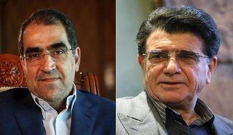 واکنش شجریان به احوالپرسی وزیر/صوت