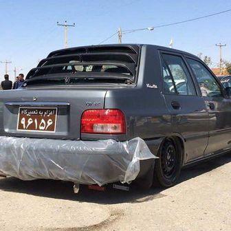 اجرای طرح نصب پلاک تعمیری بر روی خودروهای فاقد معاینه فنی و دودزا