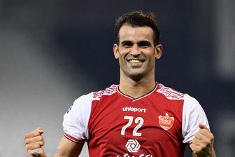 مهاجم پرسپولیس در بین بهترین گلزنان لیگ قهرمانان آسیا قرار گرفت