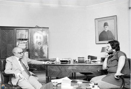 1357؛ علی امینی درگفت وگو با علیرضا نوری زاده ،خبرنگار روزنامه اطلاعات