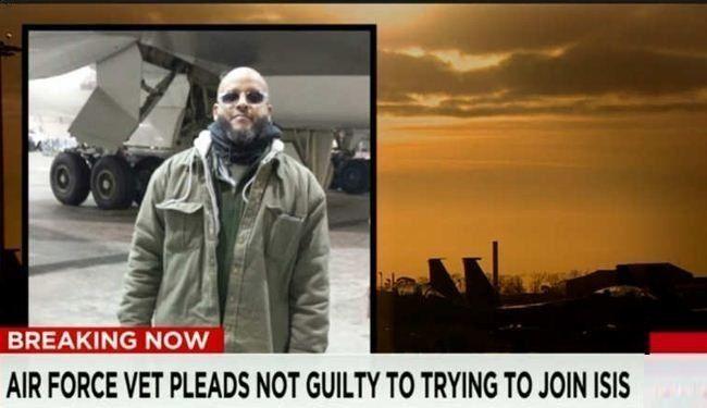 دستگیری خلبان آمریکایی قبل از پیوستن به داعش