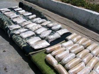 کشف 407 کیلو مواد مخدر پس از درگیری با قاچاقچیان