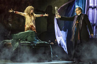 وحشت تماشاگران با حضور «جن گیر» روی صحنه تئاتر لندن