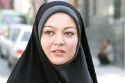 خانم بازیگر با گریم سریال جدیدش+عکس
