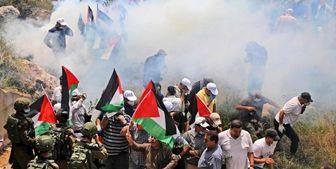 حمله نظامیان صهیونیست به فلسطینیها