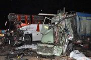 سه کشته در پی تصادف مرگبار امروز کامیون و تیبا