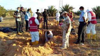 کشف ۲۲۰ جسد از گورهای جمعی در لیبی