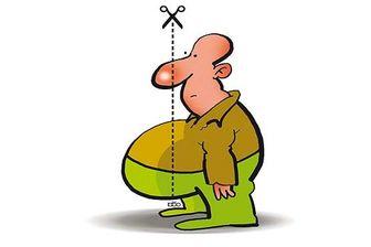رفع چربیهای دور شکم با این رژیم غذایی