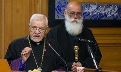 «خسته نباشید» اسقف اعظم ارامنه تهران به رئیس پلیس پایتخت