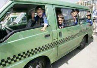 برخورد پلیس با سرویس های غیرمجاز مدارس