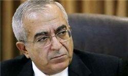 استقبال رهبران فتح از استعفای سلام فیاض