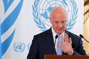 اظهارات فرستاده سازمان ملل در امور سوریه درباره مذاکرات سوری