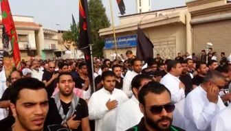 تظاهرات گسترده در شرق عربستان / فیلم