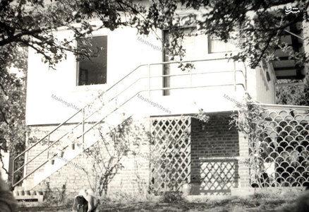 نمایی از آغازین اقامتگاه امام در دهکده نوفل لوشاتو