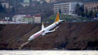 هواپیمای مسافربری ترکیه  دچار سانحه شد