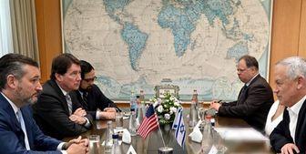 دیدار بنی گانتز با سناتورهای آمریکایی در خصوص برنامه هستهای ایران