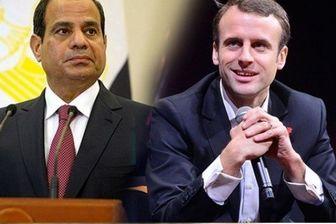 بحران لیبی محور گفتگوی تلفنی السیسی و ماکرون