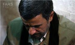 احمدینژاد درگذشت سلیمانی را تسلیت گفت