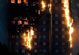 آتشسوزی برج گرنفل لندن مهار شد