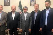 تاکید هیأت حماس و سفیر ایران در لبنان بر رد طرح الحاق