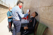 هافبک عراقی پرسپولیس کرونایی شد؟