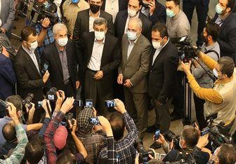 درگیری همراهان احمدی نژاد در ستاد انتخابات کشور +فیلم