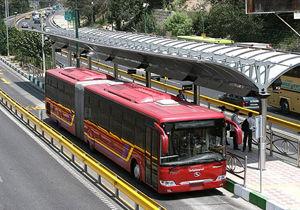 برخورد اتوبوس BRT با عابران تهرانی ۳ مصدوم برجا گذاشت