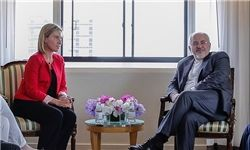 موگرینی: با ظریف بحث مفصلی در مورد سوریه داشتم