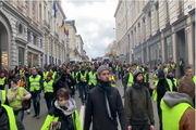 سرکوب هزاران جلیقه زرد فرانسه با سلاح جدید