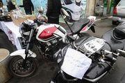توقیف موتورسیکلتهای سنگین در تهران/ گزارش تصویری