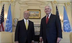 وزیر خارجه آمریکا و مدیرکل آژانس اتمی دیدار و گفت وگو کردند