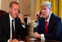 ترامپ محورهای رایزنی تلفنی خود با اردوغان را تشریح کرد
