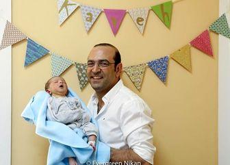 مهران نائل و رفیق شفیقش/ عکس
