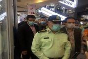 بازدید سردار رحیمی از رعایت دستورالعملهای بهداشتی ستاد مقابله با کرونا در خودروها و اصناف