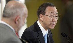 بان کی مون: کمک بین المللی به سوریه محدود است