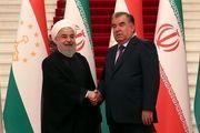«رحمان» تاجیکستان را وطن دوم «حسن روحانی» خواند