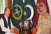 مذاکره سفیر افغانستان با فرمانده ارتش پاکستان
