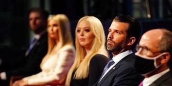 خانواده ترامپ با نزدن ماسک، قانونشکنی کردند