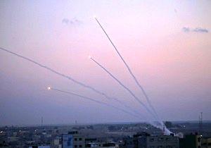 پرتاب چهار راکت از نوار غزه به سوی سرزمینهای اشغالی