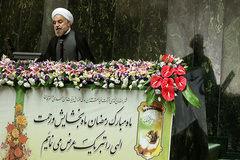 روحانی وارد مجلس شد