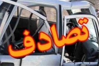 تصادف خونین در اتوبان تهران-قم/ مصدومیت 10 نفر