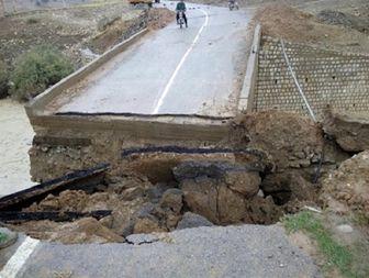 سیل راه ارتباطی 8 روستای چگنی را قطع کرد