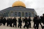 حمله نظامیان رژیم صهیونیستی به نمازگزاران فلسطینی