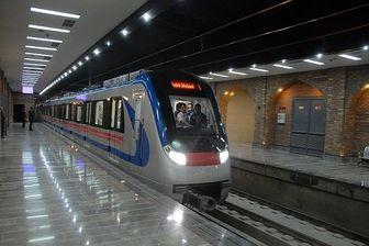 مترو در ایستگاه میدان آزادی توقف ندارد